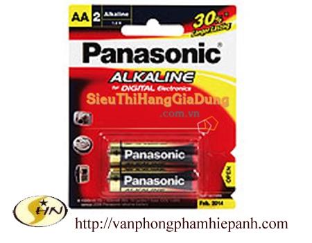 Pin tiểu Panasonic Alkaline AA vỉ 2v