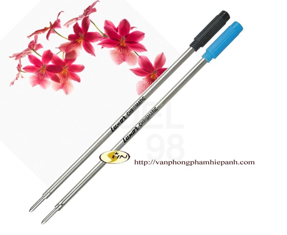Ruột bút bi Luxo thép 9107 (xanh)