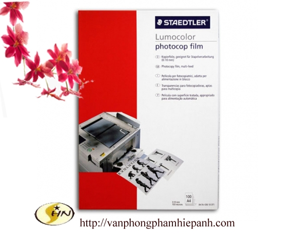 Film chịu nhiệt in Laze Staedtler DT1