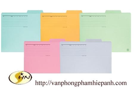 File  bìa giấy  Plus FL061IF blue (file đặt bàn)